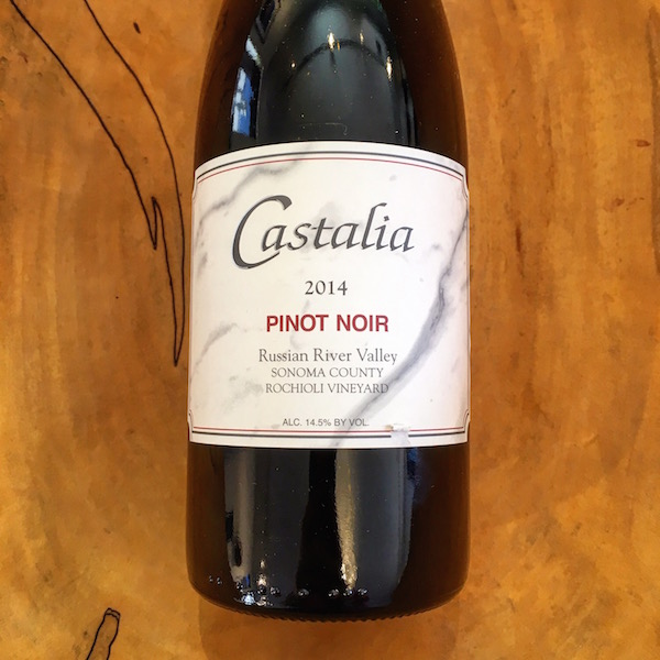 Castalia Rochioli Vineyard Pinot Noir 2014 Russian River Valley - K. Laz Wine Collection