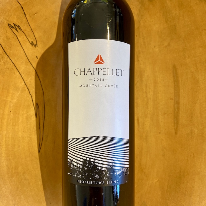Chappellet 'Mountain Cuvee' Red 2018 - K. Laz Wine Collection