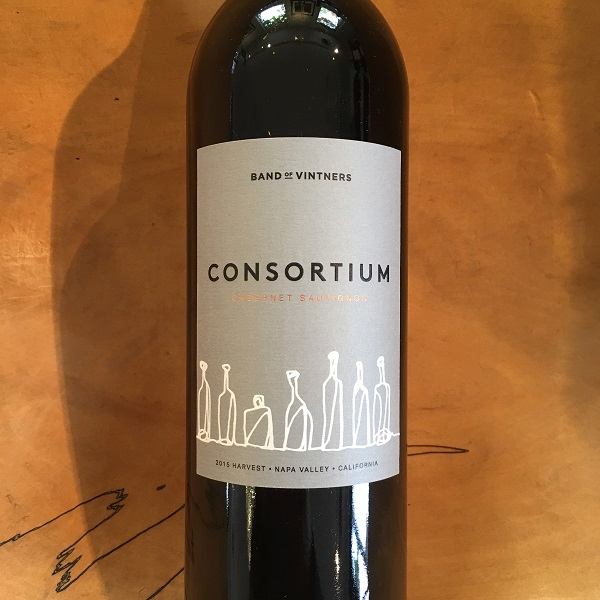 Consortium Cabernet Sauvignon 2015 Napa Valley - K. Laz Wine Collection