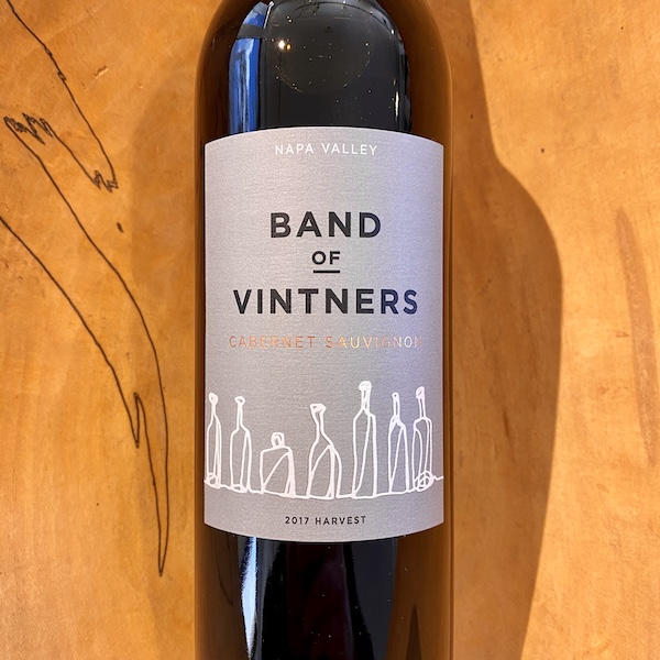 Band of Vintners 'Consortium' Cabernet Sauvignon 2017 - Special Priced 6-Pack - K. Laz Wine Collection