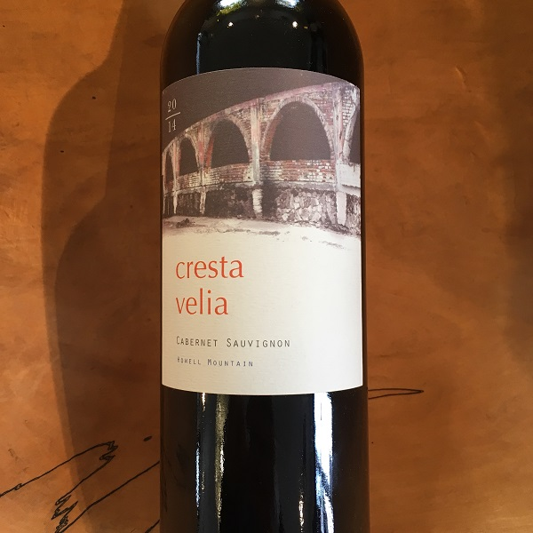 Cresta Velia Cabernet Sauvignon 2014  Howell Mountain - K. Laz Wine Collection