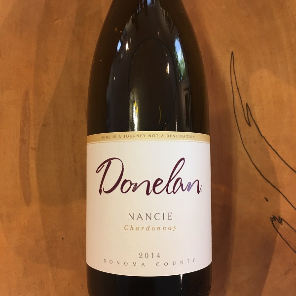 Donelan 'Nancie' Chardonnay 2014  Sonoma County - K. Laz Wine Collection