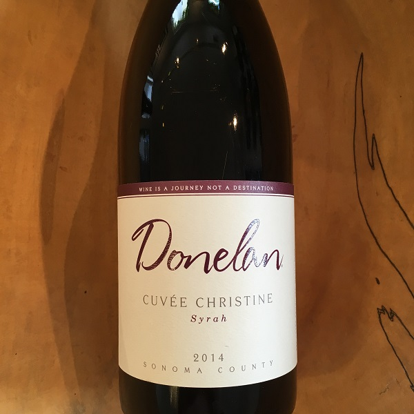 Donelan  'Cuvee Christine' Syrah 2014 - K. Laz Wine Collection
