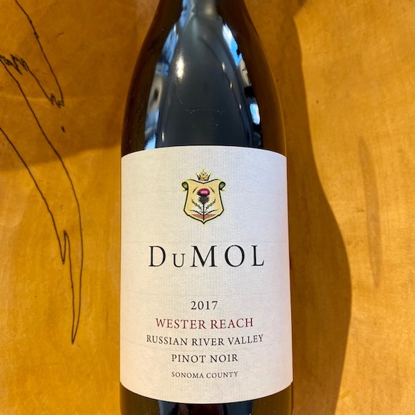 DuMOL 'Wester Reach' Pinot Noir 2017 - K. Laz Wine Collection