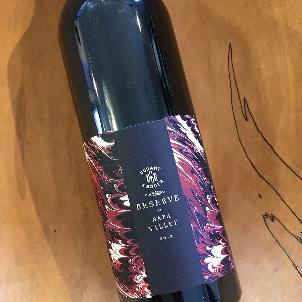 Durant & Booth  Reserve Red 2012 - K. Laz Wine Collection