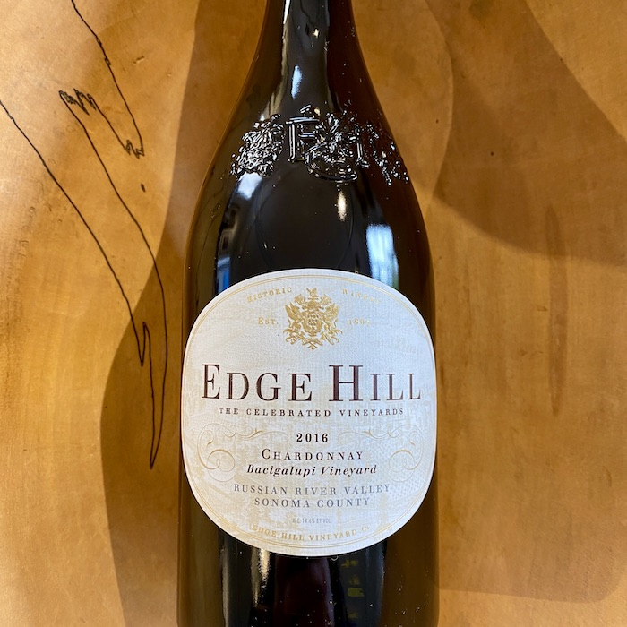 Edge Hill 'Bacigalupi Vineyard' Chardonnay 2016 - K. Laz Wine Collection