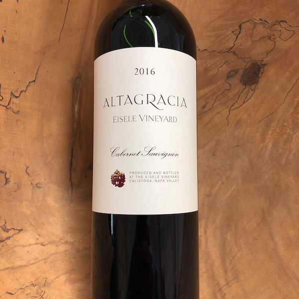 Eisele Vineyard 'Altagracia' Cabernet Sauvignon 2016 - K. Laz Wine Collection