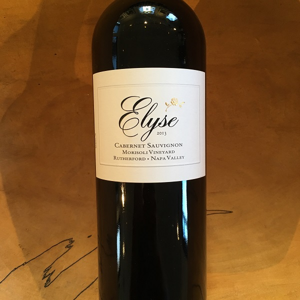 Elyse 'Morisoli Vineyard' Cabernet Sauvignon 2013 Rutherford - K. Laz Wine Collection