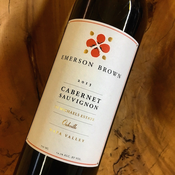 Emerson Brown III Michael's Estate Cabernet Sauvignon 2013 Oakville - K. Laz Wine Collection
