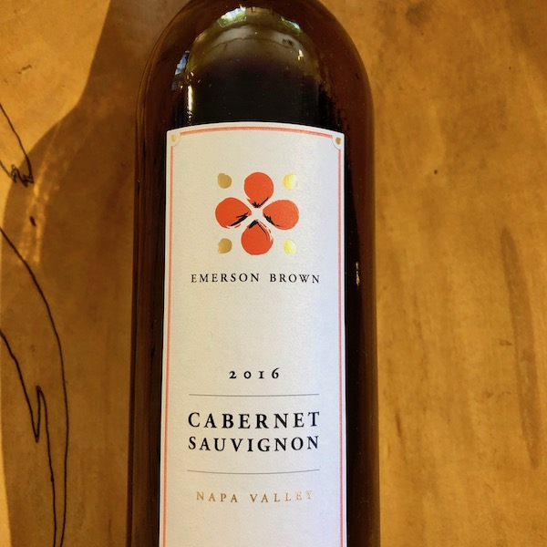 Emerson Brown Napa Valley Cabernet Sauvignon 2016 - K. Laz Wine Collection