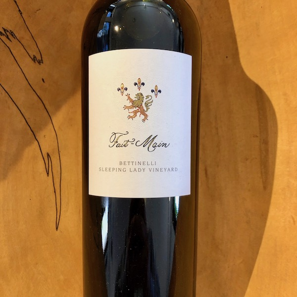 Fait-Main  Bettinelli Sleeping Lady Vineyard Cabernet Sauvignon 2016 - K. Laz Wine Collection
