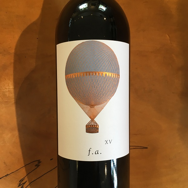 Familiar Air Cabernet Sauvignon 2015 Napa Valley - K. Laz Wine Collection