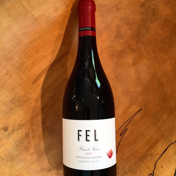 FEL Ferrington Vineyard Pinot Noir 2013 Anderson Valley - K. Laz Wine Collection