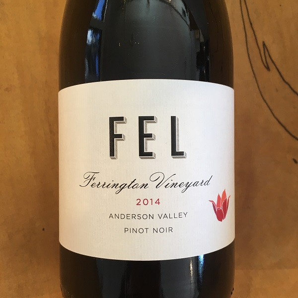 FEL 'Ferrington Vineyard' Pinot Noir 2014 Andreson Valley - K. Laz Wine Collection