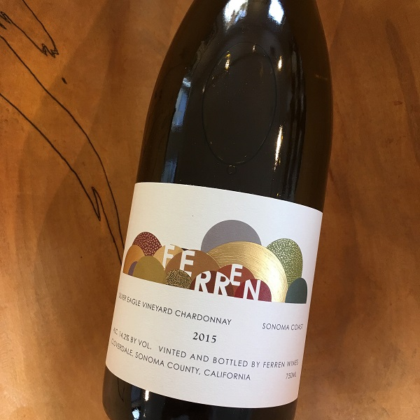 Ferren 'Silver Eagle Vineyard' Chardonnay 2015  Sonoma Coast - K. Laz Wine Collection