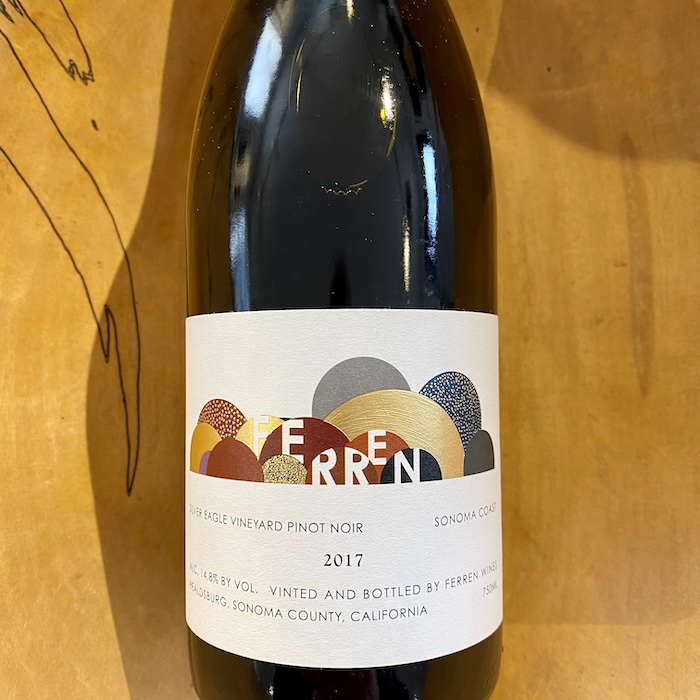 Ferren 'Silver Eagle Vineyard' Pinot Noir 2017 - K. Laz Wine Collection