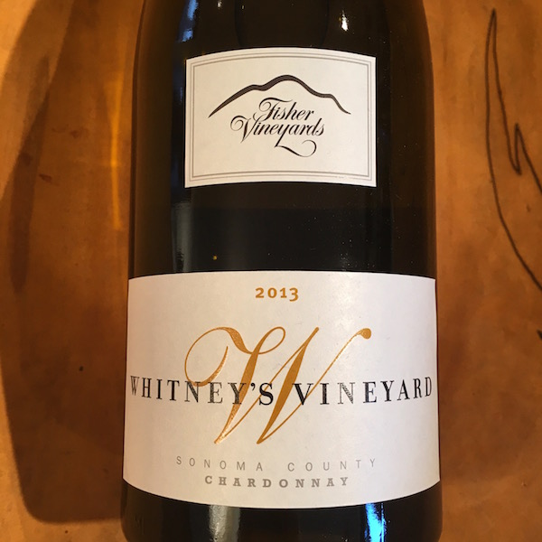 Fisher Whitney's Vineyard Chardonnay 2013 Sonoma  - K. Laz Wine Collection