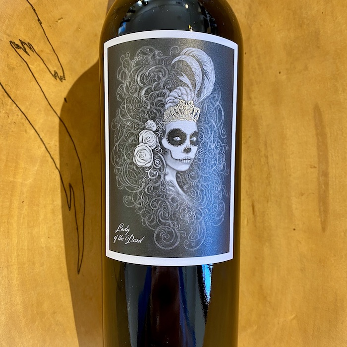 Frias 'Lady of the Dead' Red 2017 - K. Laz Wine Collection