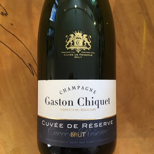 Gaston Chicquet 'Cuvee de Reserve' Brut NV   - K. Laz Wine Collection