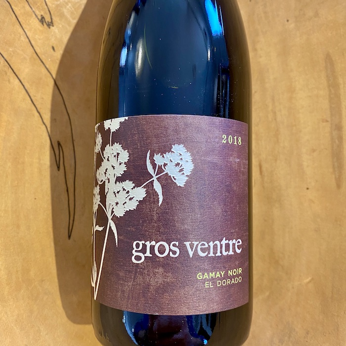 Gros Ventre El Dorado Gamay Noir 2018 - K. Laz Wine Collection