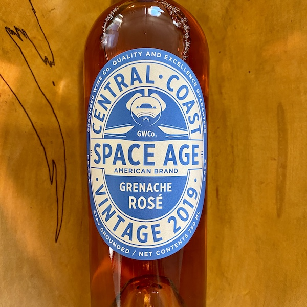 Grounded Wine Co. 'Space Age' Rose 2019 - K. Laz Wine Collection