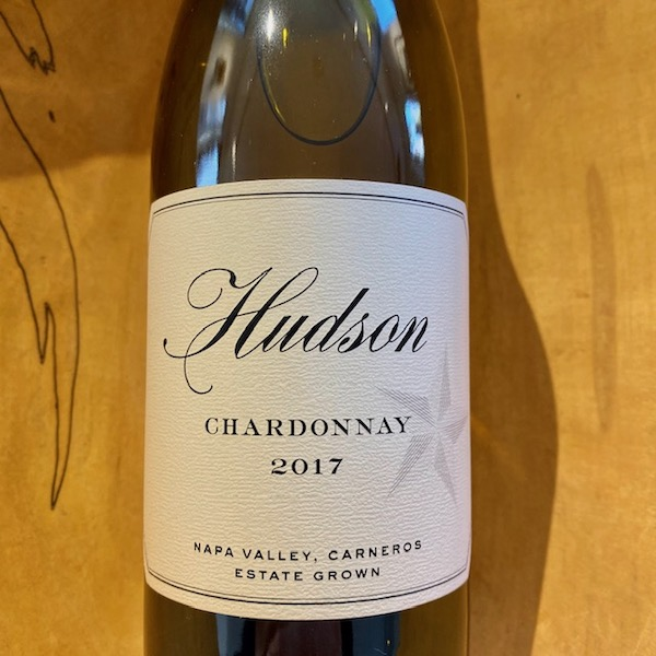 Hudson  Estate Chardonnay 2017 - K. Laz Wine Collection