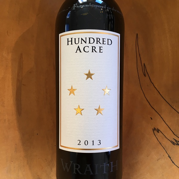 Hundred Acre  'Wraith' Cabernet Sauvignon 2013 - K. Laz Wine Collection