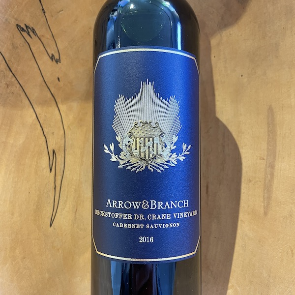 Arrow & Branch 'Beckstoffer Dr. Crane' Cabernet Sauvignon 2016 - K. Laz Wine Collection