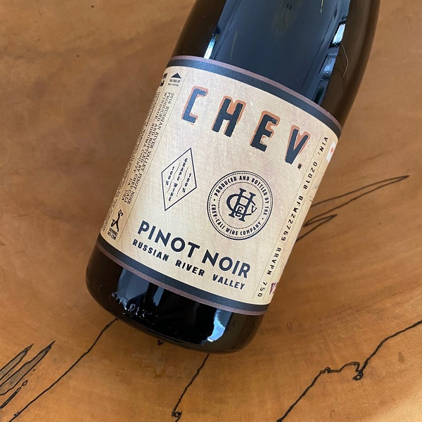 CHEV Russian River Valley Pinot Noir 2018 - K. Laz Wine Collection