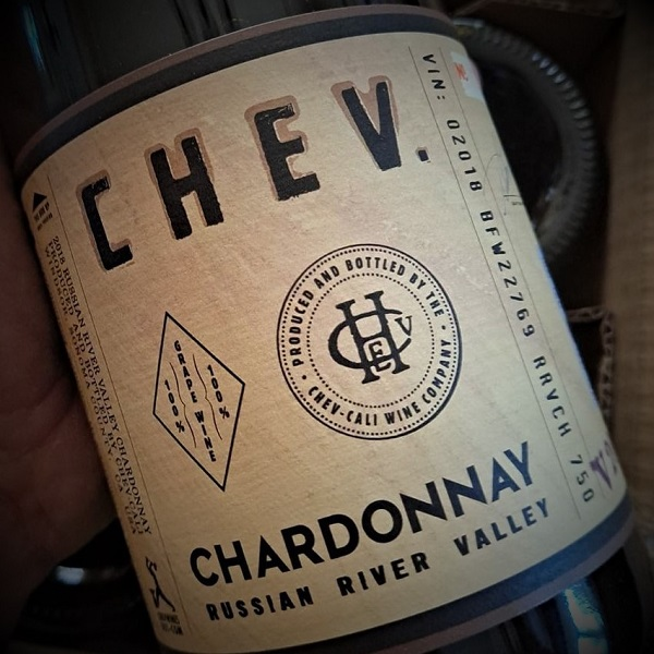 CHEV Russian River Valley Chardonnay 2018 - K. Laz Wine Collection