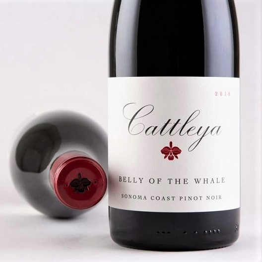 Cattleya Cattleya 'Belly of the Whale' Pinot Noir 2018 - Special Priced 3-Pack - K. Laz Wine Collection