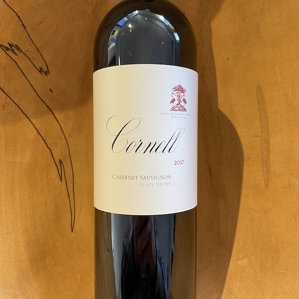 Cornell Estate Cabernet Sauvignon 2017 - K. Laz Wine Collection