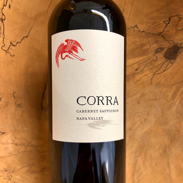 Corra Napa Valley Cabernet Sauvignon 2017 - K. Laz Wine Collection