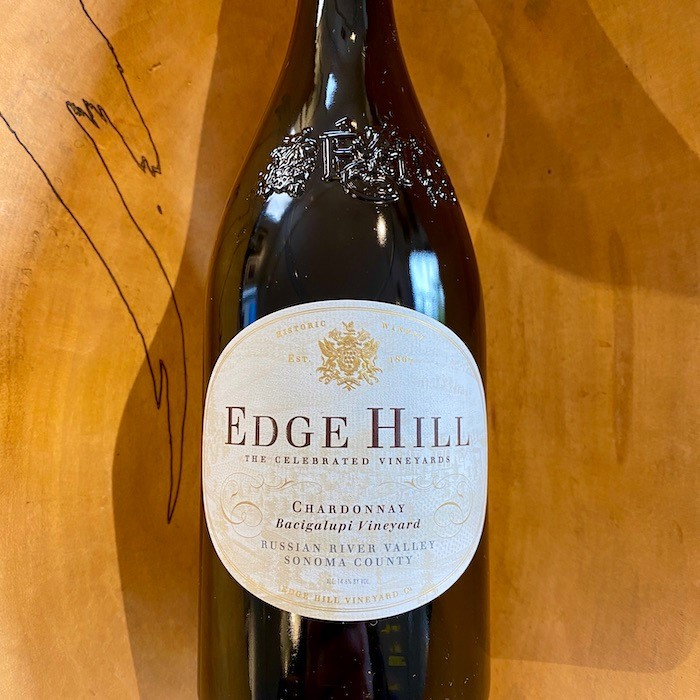 Edge Hill Bacigalupi Vineyard Chardonnay 2017- Special Priced 3-Pack - K. Laz Wine Collection