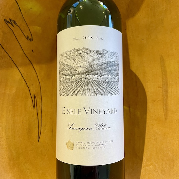 Eisele Vineyard Estate Sauvignon Blanc 2018 - K. Laz Wine Collection