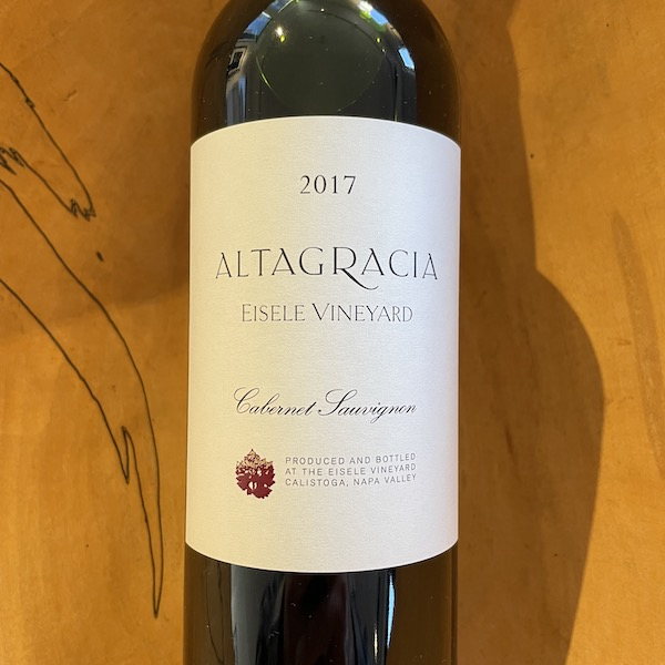 Eisele Vineyard 'Altagracia' Cabernet Sauvignon 2017 - K. Laz Wine Collection