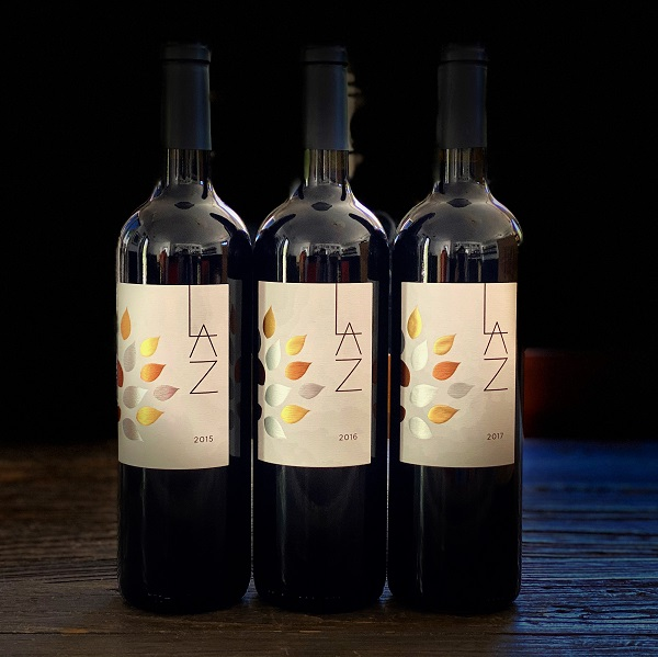 LAZ Napa Valley Cabernet Sauvignon 2015, 2016 & 2017 3-Bottle Vertical Set - K. Laz Wine Collection