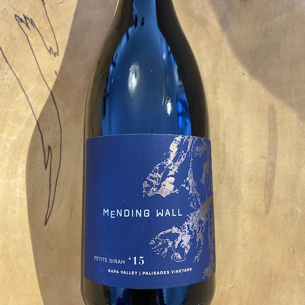 Mending Wall 'Palisades Vineyard' Petite Sirah 2015 - Special Priced 3-Pack - K. Laz Wine Collection
