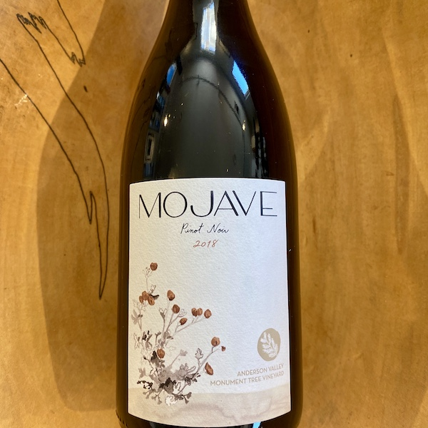 Mojave 'Monument Tree Vineyard' Pinot Noir 2018 - K. Laz Wine Collection