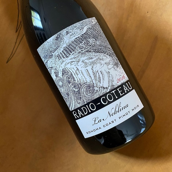 Radio-Coteau 'La Neblina' Sonoma Coast Pinot Noir 2016 - K. Laz Wine Collection