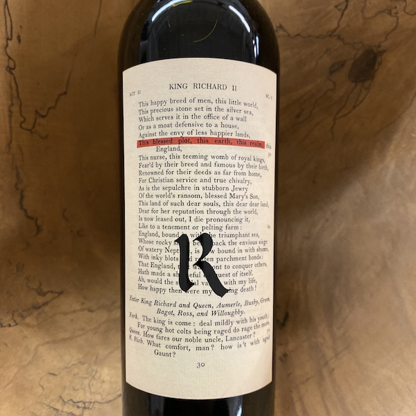 Realm 'Bard' Red 2018 - K. Laz Wine Collection