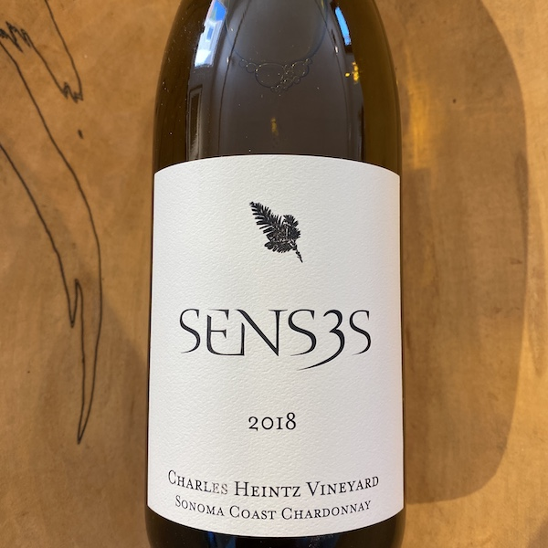 Senses 'Charles Heintz Vineyard' Chardonnay 2018 - Special Priced 3-Pack - K. Laz Wine Collection