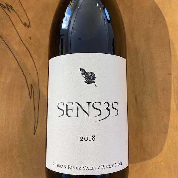 Senses 'Russian River Valley' Pinot Noir 2018 - K. Laz Wine Collection