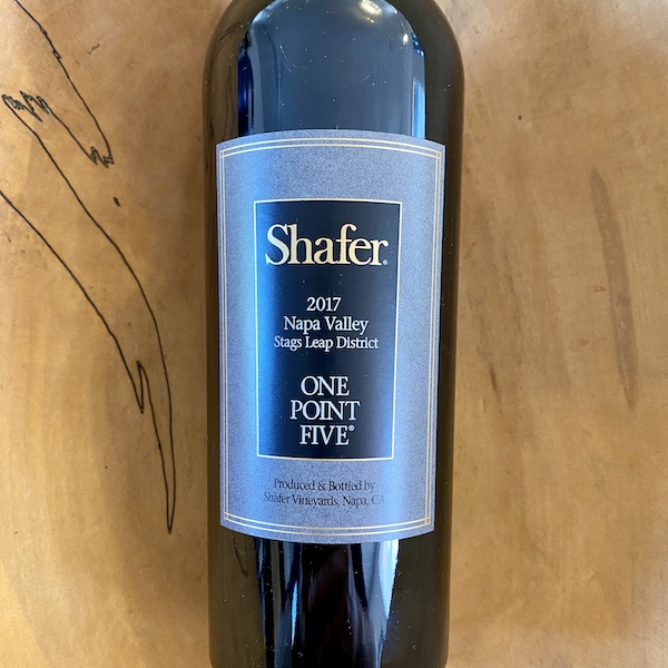 Shafer 'One Point Five' Cabernet Sauvignon 2017 - K. Laz Wine Collection