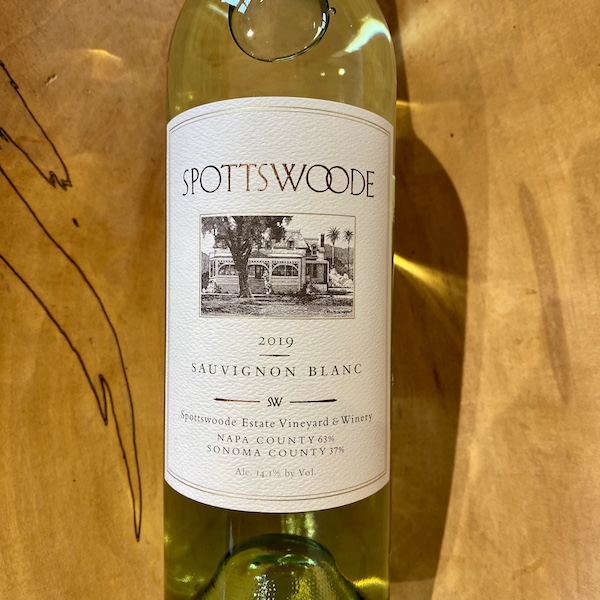 Spottswoode Sauvignon Blanc 2019 - K. Laz Wine Collection