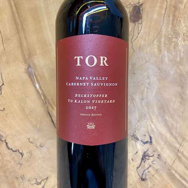 TOR 'Beckstoffer ToKalon Vineyard' Cabernet Sauvignon 2017 - K. Laz Wine Collection