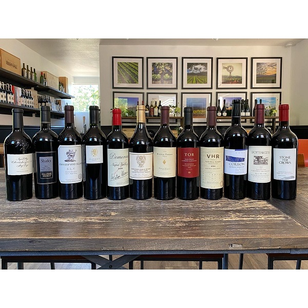 Vinous Learn & Napa Valley In-Home Wine Tasting Seminars The Collector Kit - with Shipping Included - K. Laz Wine Collection