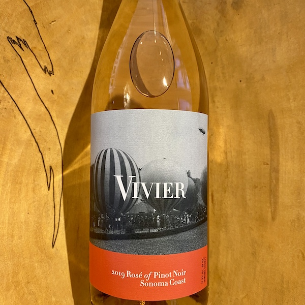 Vivier Sonoma Coast Rosé 2019 - K. Laz Wine Collection