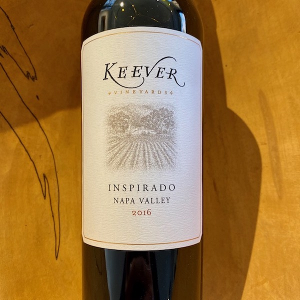 Keever Inspirado Red 2016 - K. Laz Wine Collection