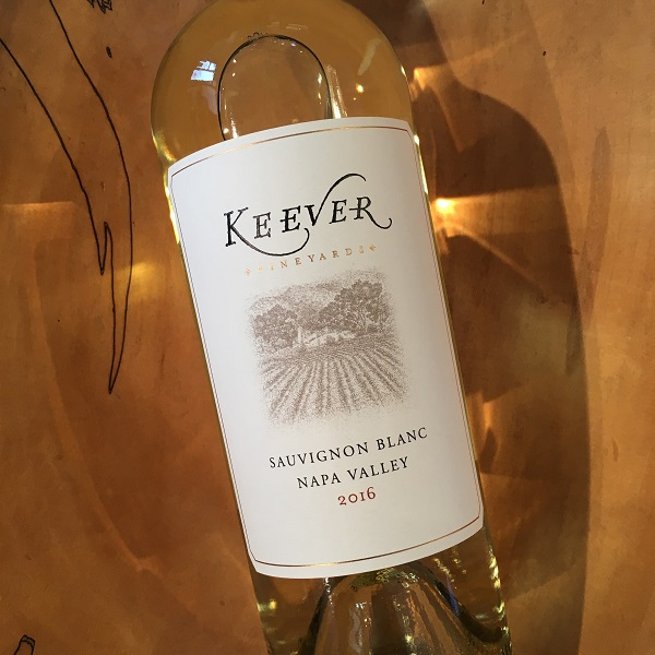 Keever Vineyards Sauvignon Blanc 2016 - K. Laz Wine Collection